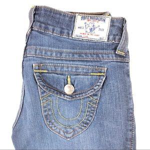 True Religion Flare Jeans Dark Wash Womens Size 27